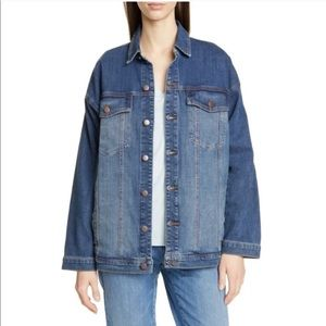Eileen Fisher Women's Oversized Denim Jacket XS